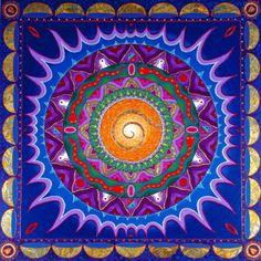 Mandalas.com--The Art of Paul Heussenstamm (Hearts Touch)