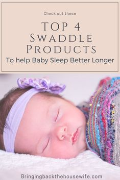 Want to help your baby sleep longer? And possibly even get your baby to sleep through the night? Check out my top picks for the best baby swaddle blankets and baby swaddle sacks. Baby Shower Registry, Baby Registry Items, Help Baby Sleep, Get Baby, Toddler Sleep, Taking Care Of Baby, Baby Sleep Schedule, Baby Gadgets, Baby Swaddle Blankets