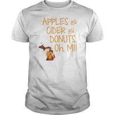 Apples Cider Donuts Oh Michigan Leaves