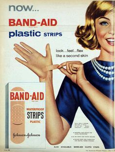 Band-Aids, 1961 . . .Back when they were good.