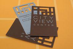 Graphic Design :: Brand Identity :: City View Center :: Smallwood, Reynolds, Stewart, Stewart
