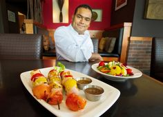 Get grilling with chef Sanjay Pandey's Charqui chicken kebabs.  #grilling #barbecue #charquigrill #kitsilano #chickenrecipe #chickenkebabs #kebabs