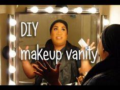 HOW TO: Makeup Vanity ★ patrickstarrr - YouTube