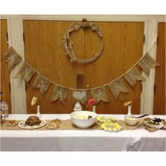 Bridal Shower/Burlap