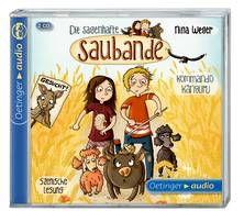 Die sagenhafte Saubande - Kommando Känguru (2 CD). Ab 8 Jahren.