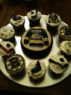 Boston Bruins cuppies — Cupcakes!