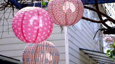 La luz es fundamental en decoración y no podemos olvidarnos de ella en nuestras celebraciones al aire libre.
