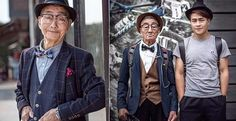 年齡不是問題!最有型最老的男人網路爆紅 85歲也能穿出優雅紳士風格