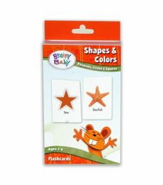 Black Friday 2014 Brainy Baby Shapes and Colors Flashcards from Brainy Baby Cyber Monday Brainy Baby, Color Flashcards, Black Friday Toy Deals, Picture Cards, Toy Sale, Shapes, Learning, Toys, Colors