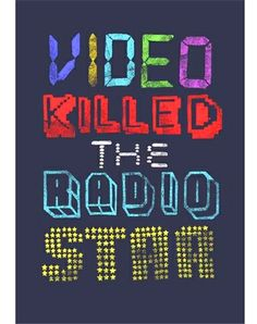 """On August 1, 1981 the first music video ever made, """"Video Killed the Radio Star"""" by The buggles, was played on MTV"""