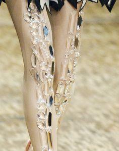 rhinestone tights from Viktor & Rolf