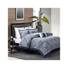 barrett jacquard comforter set by madison park bedding and bedding sets at hayneedle