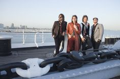After much careful deliberation, Rival Sons will not be changing their name to Giant Chains on a Dock.