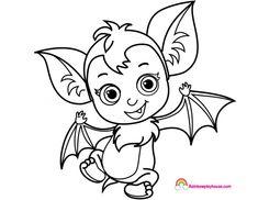 Baby Nosy Ballerina Vampirina Printable Coloring Page ...