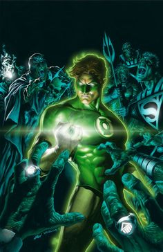 Green Lantern (Hal Jordan) My favorite Hero in DC