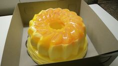 Fluffy Orange Pudding