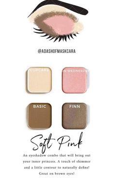Maskcara - Makeup - Make Up Eyeshadow For Blue Eyes, Mac Eyeshadow, Makeup For Brown Eyes, Eyeshadow Looks, Eyeliner, Eyeshadows, Neutral Eyeshadow, Mascara, Maskcara Makeup