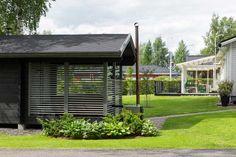 Outdoor Sauna, Outdoor Decor, Gazebo, Garage Doors, Outdoor Structures, House, Home Decor, Kiosk, Decoration Home
