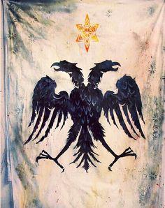 Albanian flag (Unknown Artist)
