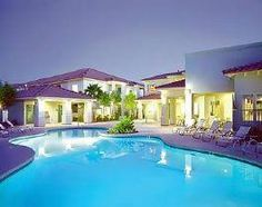 Las Vegas, NV: This condo-style resort is 2 miles from the south end of the Las Vegas Strip and 4 miles from McCarran International Airport.     Tucked away from the...