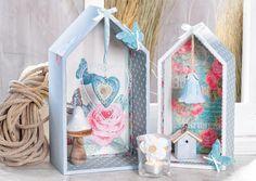 """Anleitung für kreative Häuser-Regalboxen """"Living Home"""" - Kostenlose Schritt-für-Schritt Anleitung ✓ Einfach nachzumachen ✓ Materialienübersicht ✓. Entdecken Sie bei VBS Hobby eine große Auswahl an Bastelanleitungen und bestellen Sie alle Materialien ganz einfach online."""