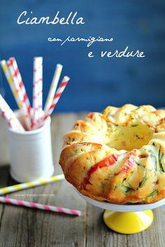 ChiarapassionCiambella con parmigiano e verdureby Chiarapassion