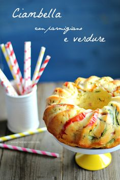 Ciambella con parmigiano e verdure