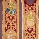 Embroidered Orphreys, 1400s-1500s.