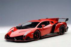 Lamborghini Veneno Rojo Autoart 74508 - $ 3,490.00 en MercadoLibre
