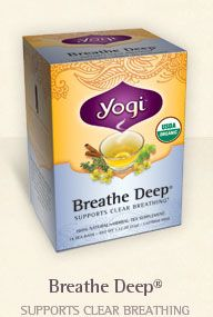 I love Yogi tea. I want to try them all! They have the best product images and great names for their teas.