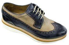 Scarpe eleganti Brecos 6012 Blu