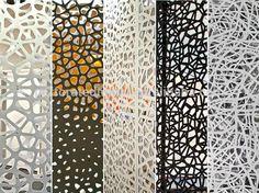 decorative laser cut metal screen design