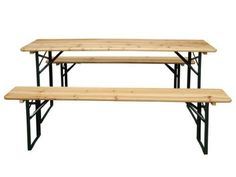 Garden-Furniture-Wooden-Seat-Folding-Trestle-Bench-Picnic-Camping-Dining-Table