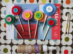 Cute As A Button, Things To Do With Vintage Buttons