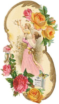 For the roses:  LÁMINAS VINTAGE,ANTIGUAS,RETRO Y POR EL ESTILO.... | Aprender manualidades es facilisimo.com
