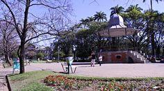 Coreto da Praça da Liberdade, em Belo Horizonte. A Praça da Liberdade funcionou por muitos anos Hoje abriga um grande Circuito Cultural.