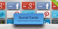 Social Cards jQuery Plugin - https://codeholder.net/item/javascript/social-cards-jquery-plugin