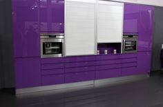 Detalle armarios Cocina Modelo Lisboa Brillo
