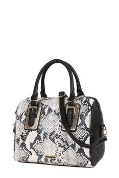 The New Kardashian Kollection Metal Trim Tote In Snake Print Yours Today At Victoria Station Au