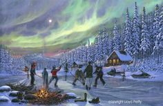 Newfoundland photographic artists who sell Christmas scenes - Google Search