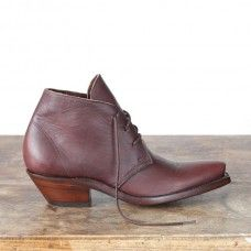 South Highland Boots in Dark Brown. $495. American made fancy boots from Cobra rock boot company