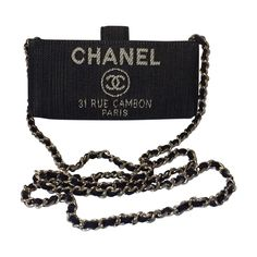navy Denim - Jeans CHANEL Handbag - Vestiaire Collective