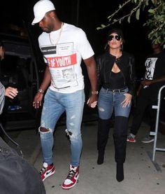 03451ee162e Night owls  Khloe Kardashian and Tristan Thompson spent date night at 1 OAK  nightclub in L.