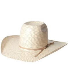 0cd77947cd6 American Hat Company® Two Tone Shantung Straw Hat    Men s    Cowboy Hats