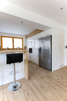 Kitchen Room Design, Kitchen Interior, Interior And Exterior, Interior Design, Küchen In U Form, Updated Kitchen, Kitchen Cabinets, House Design, Decoration