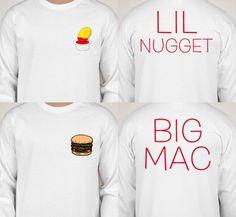 Big and Little sister shirts sorority/dance/cheer