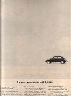 Famous VW ad