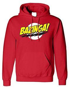 Bazinga Big Bang Theory Printed Unisex Hoodie