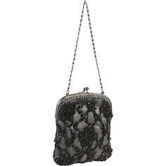 #EveningBags, #Handbags, #MoynaHandbags - Moyna Handbags Beaded Evening Bag Black - Moyna Handbags Evening Bags