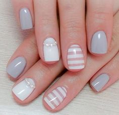 Manicura NUDE Shellac Nail Designs, Shellac Nails, Nail Art Designs, Love Nails, My Nails, Finger Art, Nail Polish Art, Pastel Nails, Bridal Nails